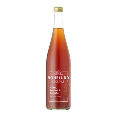 Nohrlund – Vodka, Jordbær & Rarbarber