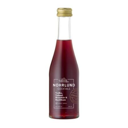 Nohrlund – Vodka, Valnød, Brombær & Basilikum