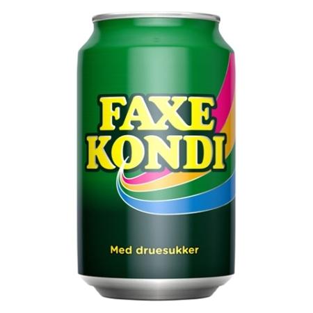 Faxe Kondi 33cl Can REGULAR