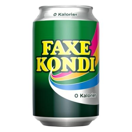 Faxe Kondi 33cl Can SUGARFREE
